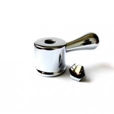 Металлическая ручка дивертора для смесителя RAF арт. GX0105